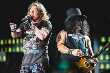 Guns N' Roses, a che punto sta il nuovo album?