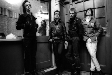 I Clash visti da Adrian Boot
