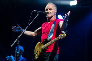 Sting a Padova tra reggae e Police