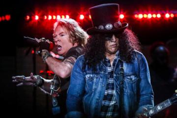 Guns N'Roses, annunciato un concerto in italia