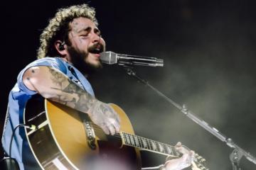 Post Malone canta i Nirvana: il live più rock del lockdown lo fa un trapper