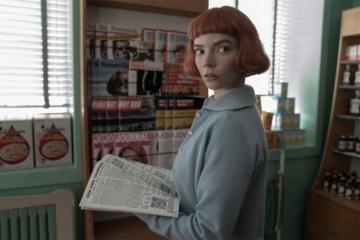"""""""La regina degli scacchi"""" è la miniserie più vista di sempre su Netflix"""