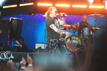 I Guns N' Roses hanno annunciato un concerto a San Siro per il 2022