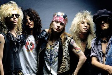Tutti gli album dei Guns N' Roses dal peggiore al migliore